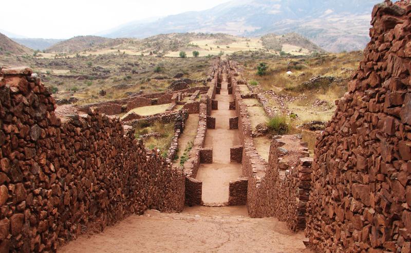 Piquillacta_Archaeological_site_-_street